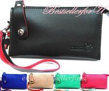 Disney Purse iPhone 7 Samsung Galaxy Note 5 S7 Case Wallet Clutch Wristlet Bag