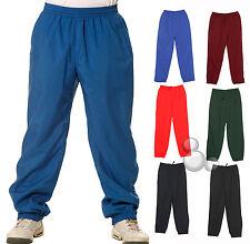 Adults Training Pants Size  XS S M L XL 2XL 3XL Warm Up Sports 6 Colours New
