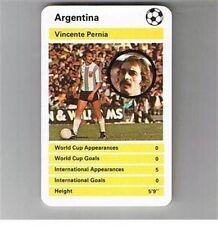 TOP TRUMPS International Greats football (Soccer) cards – VARIOUS