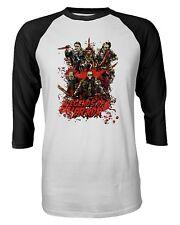 Killers Horror Freddy Texas Hell Chucky Halloween Quarter Sleeve Men's T-Shirt