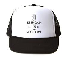 Trucker Hat Cap Foam Mesh Adoption House Car Keep Calm Fill Out Next Form