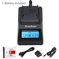 Kastar Battery and Kastar Ultra Fast Charger Kit for Sony NP-BG1, NP-FG1