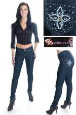 Yummi USA Juniors Stoned & Embellished Skinny Jeans
