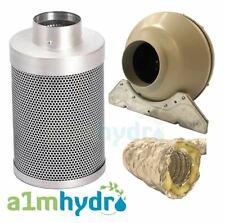 Rhino Pro Carbone Kit De Filtre 200 x 600 mm 8 in (environ 20.32 cm) L1 Systemair RVK Ventilateur Hydroponics