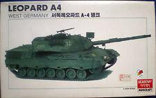 Leopard A4 West Germany Academy Carro armato 1:35 Kit montaggio