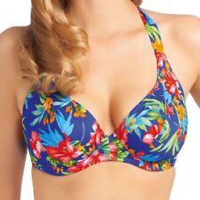 Freya Swimwear Acapulco Halter/Cross Back Bikini Top Cobalt 3341