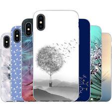 dessana Pusteblume TPU Silikon Schutz Hülle Case Handy Tasche Cover für Apple