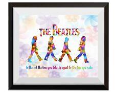 Uhomate The Beatles Poster Beatles Art Beatles Art Print Nursery Wall Decor C093
