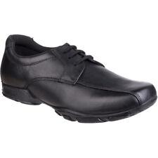 Hush Puppies Boys Vincente Senior Leather Smart School Shoes