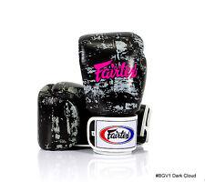 "FAIRTEX BGV-1 ""DARK CLOUD"" MUAY THAI MMA BOXING GLOVES 8-16 oz AUTHENTIC NEW"