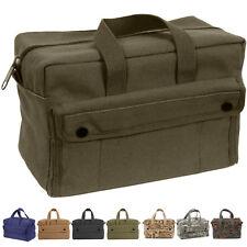 "Heavy-Duty Canvas Carry Bag Work Tote Mechanics Military Tool 11""x7""x 6"""