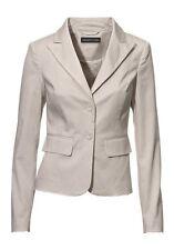 Blazer Patrizia Dini Gr.40,42 NEU Damen Jacke Beige Stretch Elegant Business