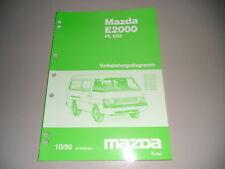 Werkstatthandbuch Elektrik Mazda E2000 MKB FE EGI 1990