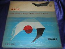 EX Vinyl Stereo LP Bach Violin Concerto In E Major & A Minor Philips 835 007AY