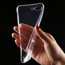 Klare silikon Handy Schutzhüllen TPU Tasche Iphone Samsung 5 6+ S7 transparent