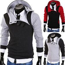 BEHYPE Kapuzenpullover Sweatshirt College Jacke Pullover Hoodie Schwarz/Grau NEU