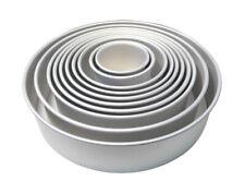 PME ROUND Circle Aluminium Mold Mould Birthday Cake Decorating Baking Tin Tray