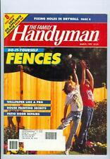 1992 Handyman Magazine: Do-It-Yourself Fences/Wallpaper Like a Pro/House Painter