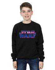 Star Wars Niños Neon Logo Camisa De Entrenamiento