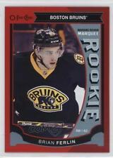 2015 O-Pee-Chee Red Border #520 Marquee Rookies Brian Ferlin Boston Bruins Card