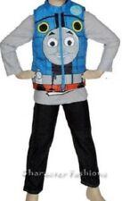 THOMAS THE TRAIN Toddler Boys 2T Set OUTFIT Shirt Vest Pants