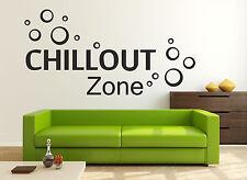 Wandtattoo Aufkleber Chillout Zone Sprüche Zitate Bad Wohnzimmer Sticker Bett