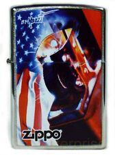Mazzi and Zippo USA Flag Motiv auf Wunsch mit pers. Gravur Neu Feuerzeug