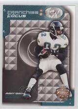 2002 Fleer Focus Jersey Edition Franchise #15FF Jimmy Smith Jacksonville Jaguars