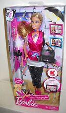 #3462 NRFB Mattel Barbie I Can Be... Career Series K-Mart Fashion Photographer