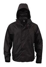 Rothco 3754 Black Packable Rain Jacket