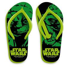 STAR WARS zapatillas chanclas verde mar e piscina suave varias tallas niño