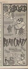 "1980 JOE JACKSON ""BEAT CRAZY"" ALBUM PROMO AD"