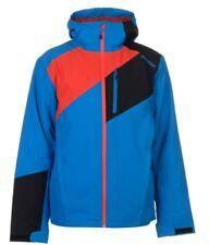 Ziener Herren Ski Jacke Tamos Blau Rot alle Größen Neu mit Etikett