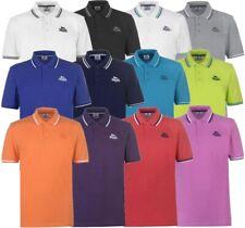 ✅ LONSDALE Herren Poloshirt T-Shirt Freizeit Sport Sommer Hemd Kragen Tipped NEU