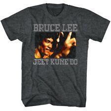 BRUCE LEE BRUCE KUNE DO BLACK HEATHER ADULT Short Sleeve T-Shirt