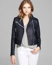 NWT J Brand Ready-To-Wear 'Aiah' Leather Crop Jacket in Duke $1195