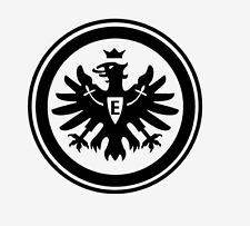 Autoaufkleber Aufkleber Sticker Bundesliga Eintracht Frankfurt Logo 10x10 cm