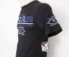 Rip Curl Mens Brand New Premium Top Tee T-Shirt Size M L XL XXL XXXL black