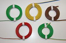 ( 0,498€/m ) 1 Rollo Trenza De Cobre Triple Strand 0,14mm ² 5m Color Su Elección