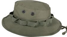 Olive Drab Military Wide Brim Fishing Hunting Boonie Hat