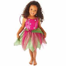 CARNAVAL niña Ciruela Hada Ninfa Disfraz Niño Vestido De Fiesta Rosa