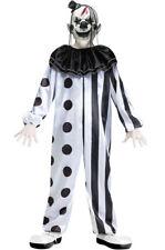 Crazy Killer Clown Boys Horror Scary Child Costume