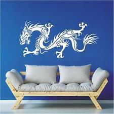 Chinesische Drachen Wandtattoo Dragon Asien China Drache Wandaufkleber Deko23