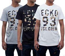 Ecko Hombre Verano Estrella Hip Hop Camisetas Skater Time Is Pañal G Money