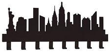 """APPENDIABITI DA PARETE """"NEW YORK"""" IN FERRO DESIGN MODERNO ARTI E MESTIERI 2531"""