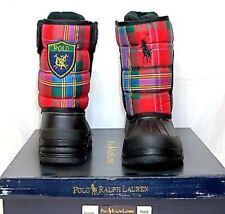 POLO RALPH LAUREN VANCOUVER Crest EZ boots  •Red Tartan•