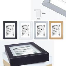 Blockrahmen 13x18 15x20 18x24 20x30 30x40 40x50 50x70 weiß schwarz silber natur