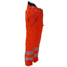 Arbortec Breatheflex Class 2 Type C Chainsaw Protective Trousers Hi Vis Orange