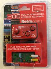 DREAMGEAR My Arcade RetroPlay Plug N Play Controller 200 Built-In Games New!