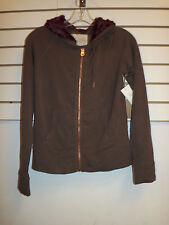 Rachel Roy New Womens XS Hear Me Roar Sweater Jacket Hooded Zip Up Sweatshirt